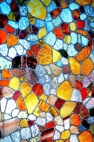 einzelne bedruckte Lamellen - Mosaique de couleurs (von REDGIE W.)