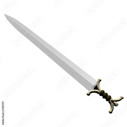 Fotografia, Obraz  celtic broadleaf sword