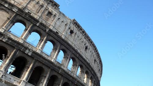 Coliseum Arhces Canvas Print