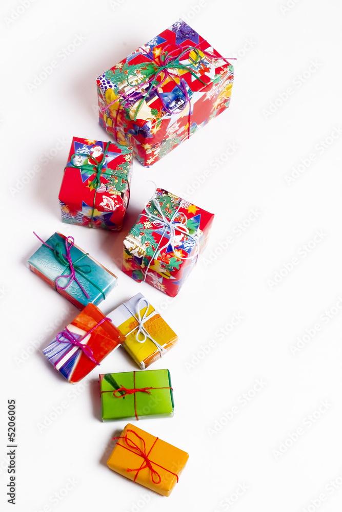Christmas presents - obrazy, fototapety, plakaty