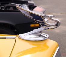 Vintage Car Hood Ornament