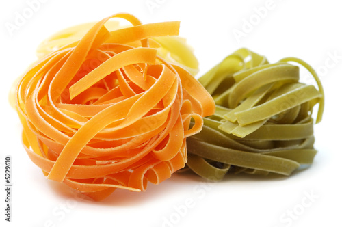 Fotografia Italian pasta tagliatelle