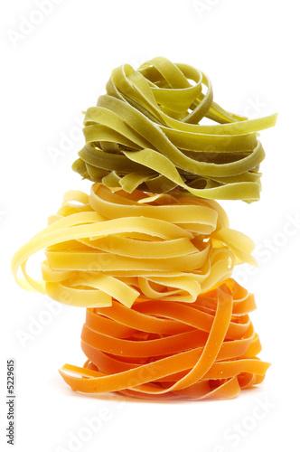 Fotografie, Obraz  Italian pasta tagliatelle