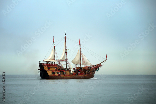 Photo Stands Ship Sail boat