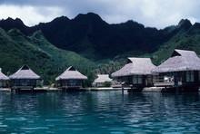 Beachside Cottages, Moorea, French Polynesia