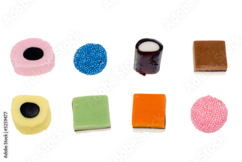 Photo liquorice allsorts
