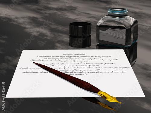 Valokuvatapetti lettre