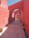 Monastery of St. Catherine at Arequipa, Peru