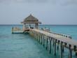 strandhaus auf den malediven