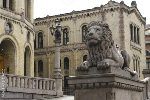 Oslo. Sculpture of Lion