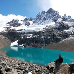 Cerro Castillo in Patagonia in the Chilean Andes
