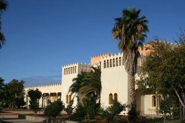 Fototapeta na wymiar Marokanische Villa bei Agadir