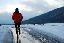 Winter Morning Running