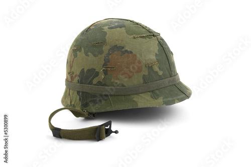 Fotografía  US Army helmet - Vietnam era