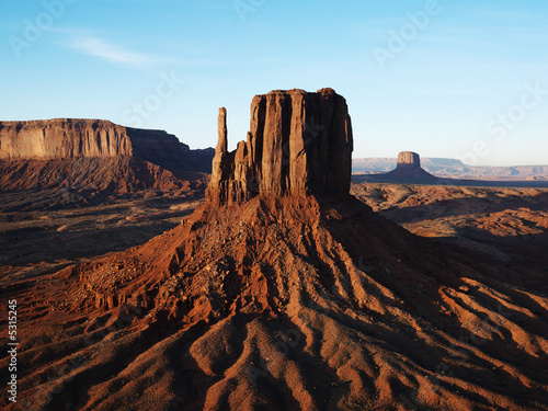 Wall Murals Deep brown Monument Valley.
