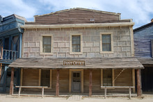 Post Office In An Old American Western Town