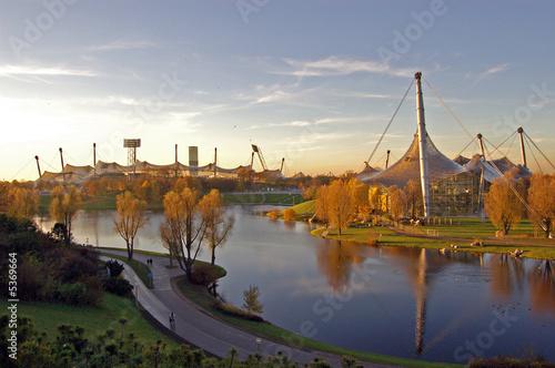 Foto-Flächenvorhang - Olympiapark (von Georgi Karamihaylov)
