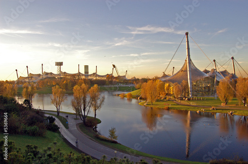 Foto-Kassettenrollo premium - Olympiapark