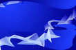 Leinwanddruck Bild - blue background