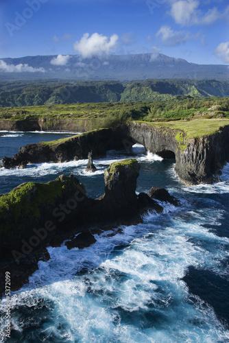 Foto-Leinwand - Maui coast. (von iofoto)