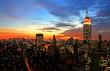 Leinwanddruck Bild New York City skyline