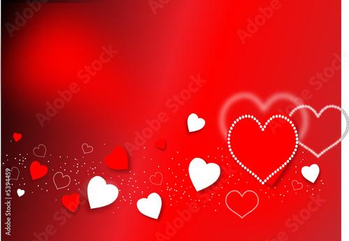 Leinwand Poster saint valentin