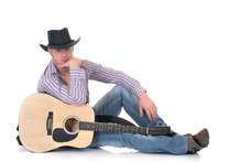 Handsome Young Male Country & Western Singer,