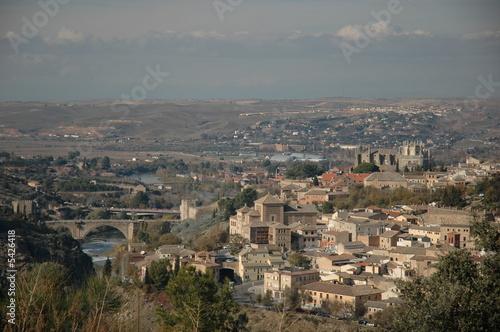 Photo sur Toile Europe Centrale Toledo Spain