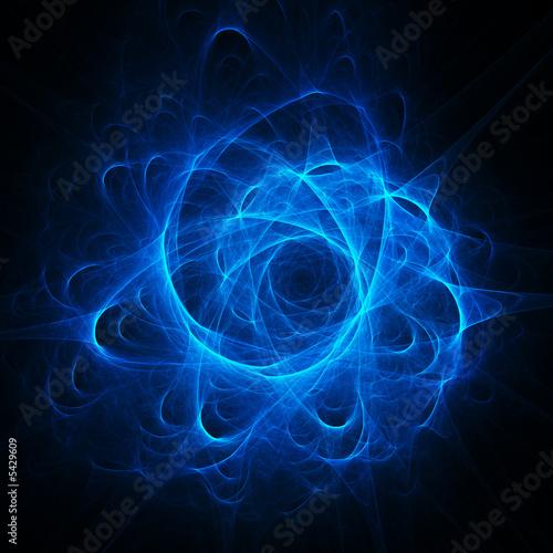 Papiers peints Spirale blue dream spiral core