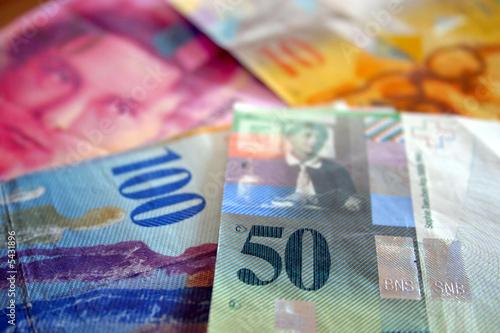 Fototapeta Schweizer Franken obraz