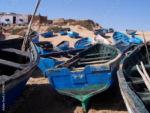 Photo bateaux de pecheur