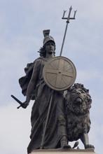 Proud Britannia, With Sword In...