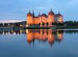 canvas print picture -  Wasserschloss