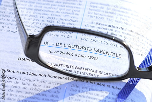 Photo  enfant et divorce