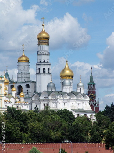 Photo  Bell tower of Ivan the Terrible and Kuranti