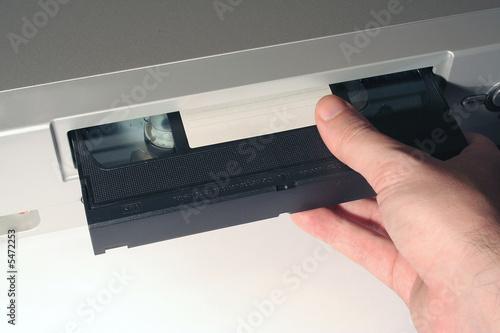 Fotografia, Obraz  video cassette
