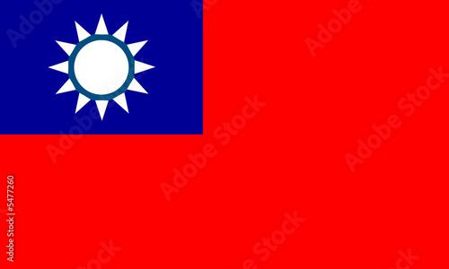 Fotografía  taiwan fahne flag