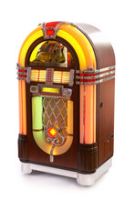 Beautiful Jukebox With Lots Of...