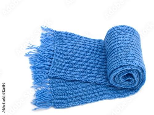 Fotografie, Obraz  Warm knitted scarf