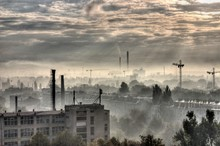 Industrial City Moonscape