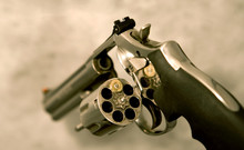 Magnum Revolver Loaded With On...
