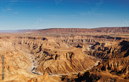 Fotografie, Obraz  Fish River canyon- the second largest canyon in the world