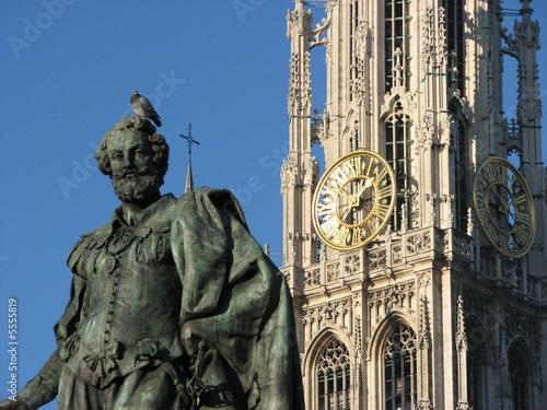 Foto op Plexiglas Antwerpen Anvers - Rubens