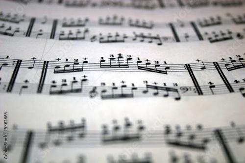 music arpeggios Canvas-taulu