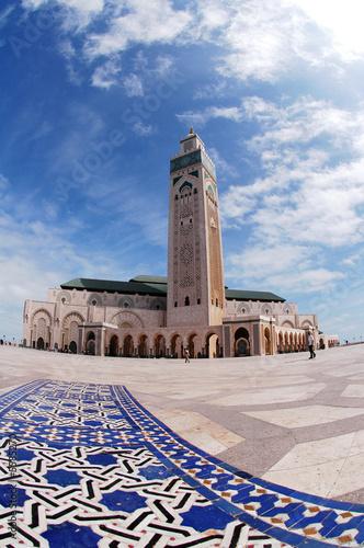 Stampa su Tela moschea di Hassan 2`a Casablanca in Marocco