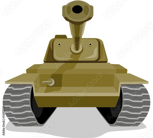 Poster Militaire Battle tank