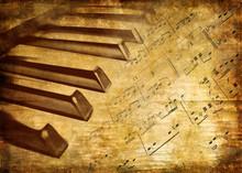 Musical Vintage Background