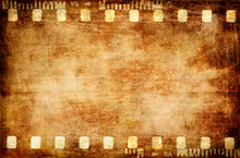 Old Grunge Filmstrip Background