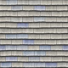 A Seamless Pattern Of Roof Tiles