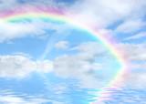 Fototapeta Tęcza - Rainbow Vista